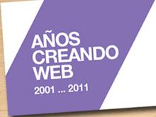 X años creando web