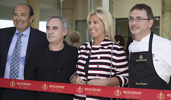 Ferran Adriá, Andoni Luis, Felix Revuelta, Angeles Muñoz