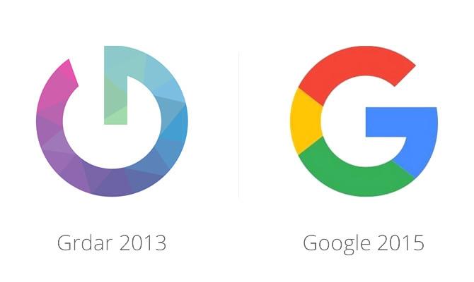 logos google y grdar